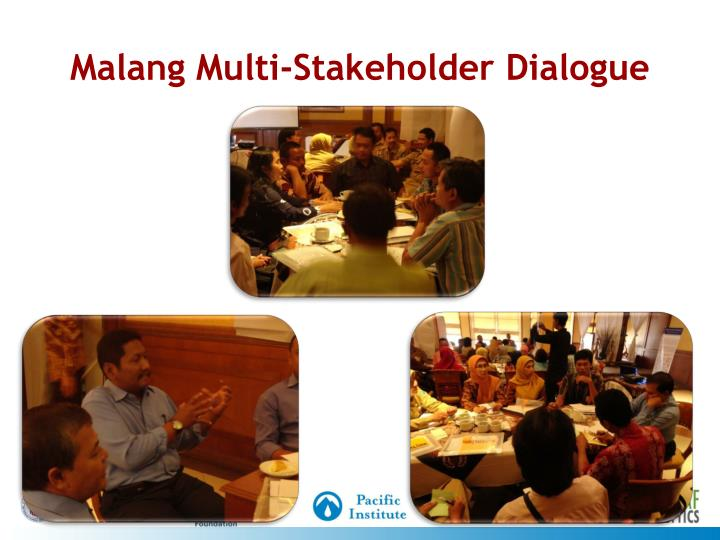 Malang Multi-Stakeholder Dialogue