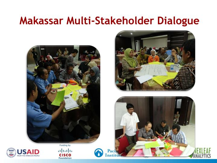 Makassar Multi-Stakeholder Dialogue
