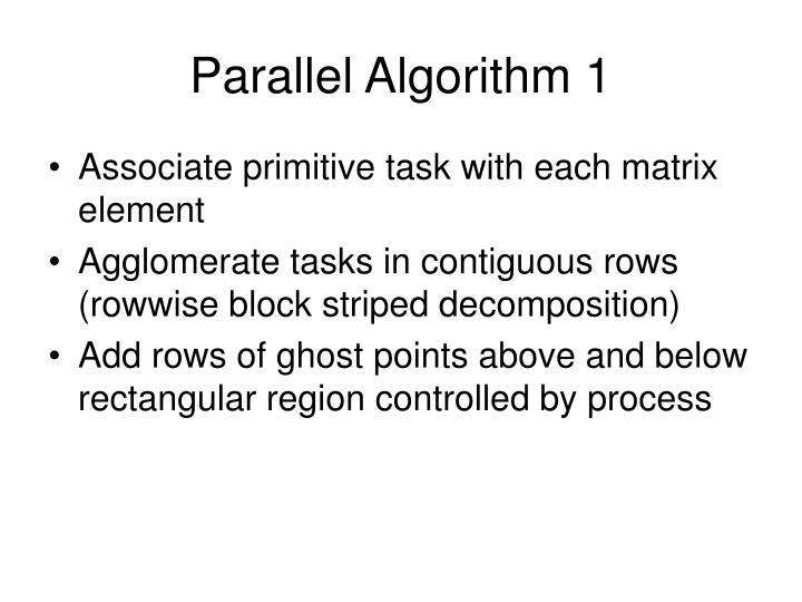 Parallel Algorithm 1