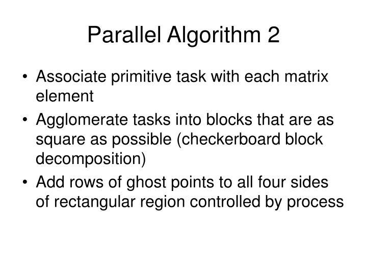 Parallel Algorithm 2
