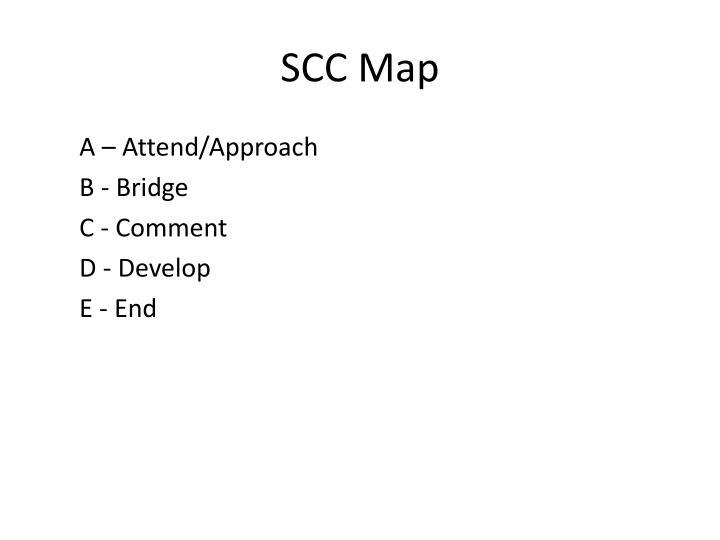 SCC Map