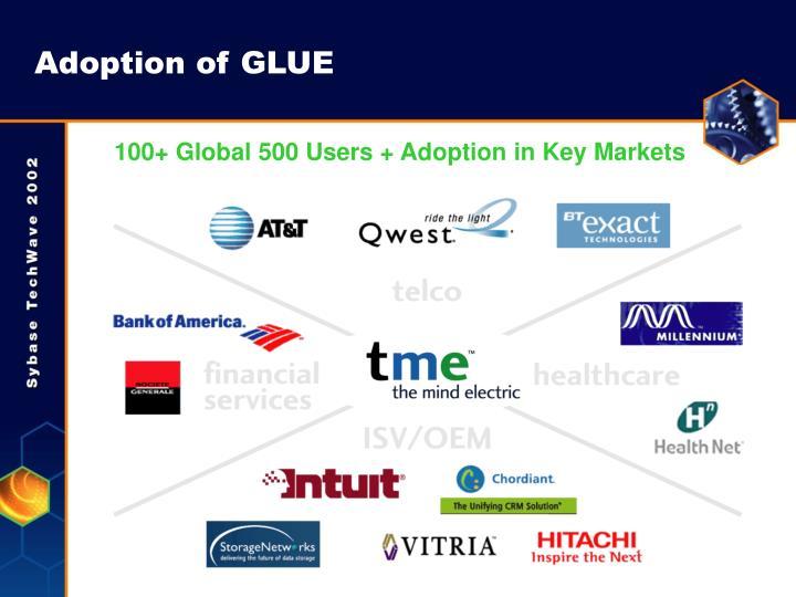 Adoption of GLUE