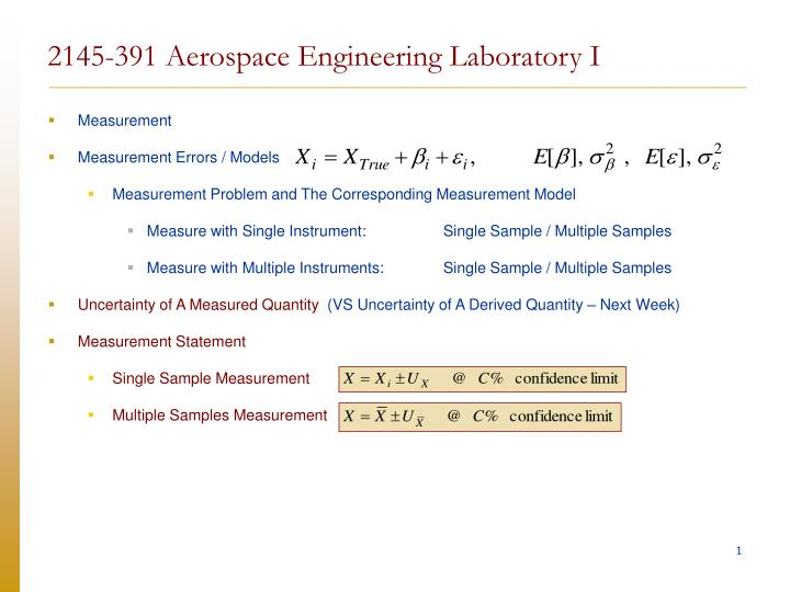 2145 391 aerospace engineering laboratory i