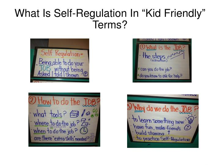 What Is Self-Regulation In