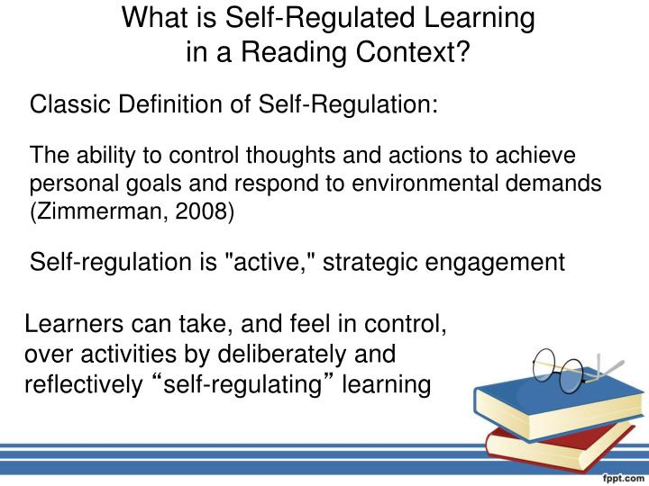 What is Self-Regulated Learning