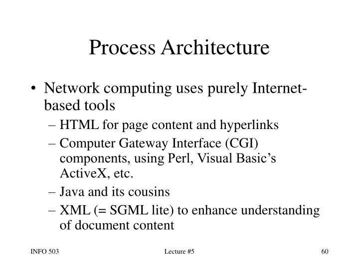 Process Architecture