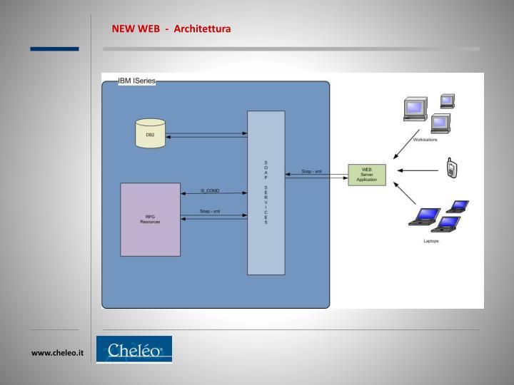 NEW WEB  -  Architettura