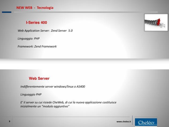 NEW WEB  -  Tecnologia