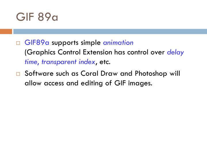 GIF 89a