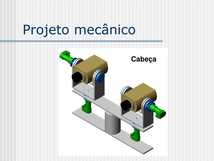 Projeto mecânico