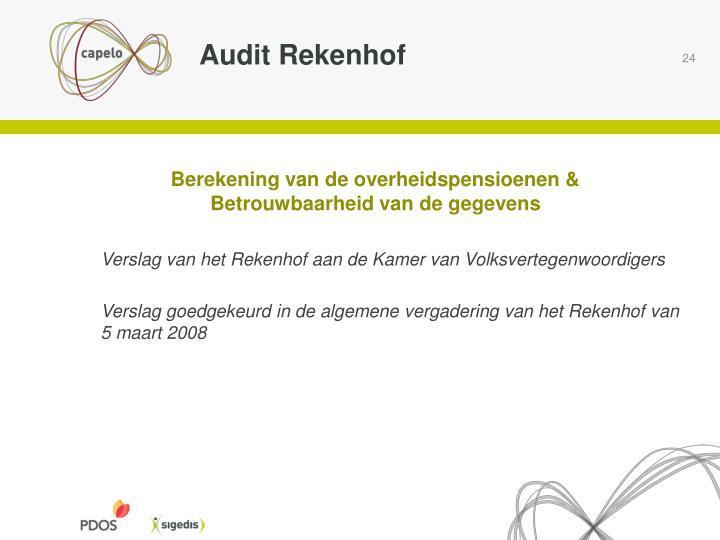 Audit Rekenhof