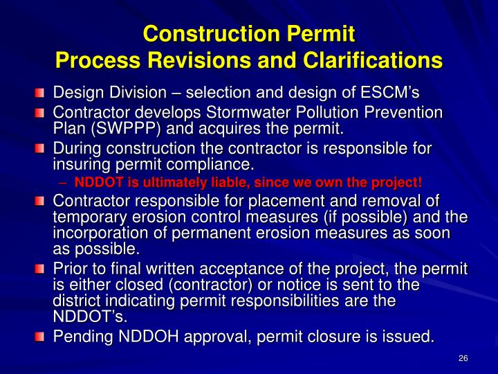 Construction Permit