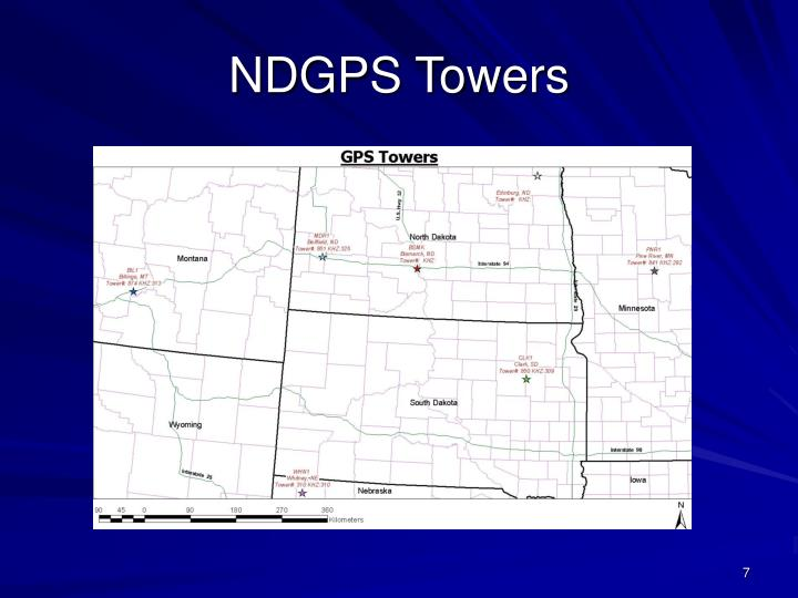NDGPS Towers
