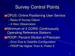 survey control points1