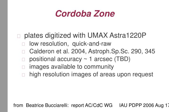 Cordoba Zone
