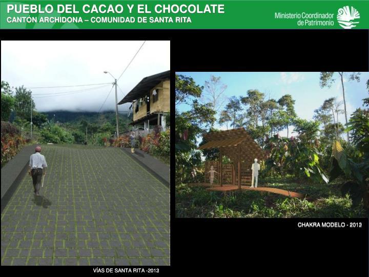 PUEBLO DEL CACAO Y EL CHOCOLATE