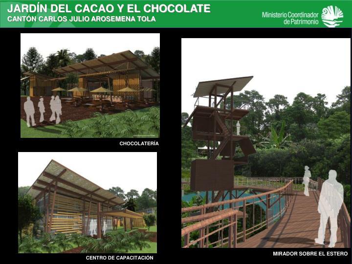JARDÍN DEL CACAO Y EL CHOCOLATE