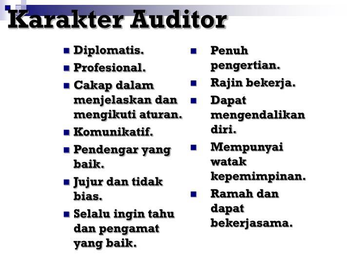 Karakter Auditor