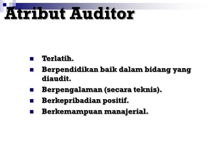 Atribut Auditor