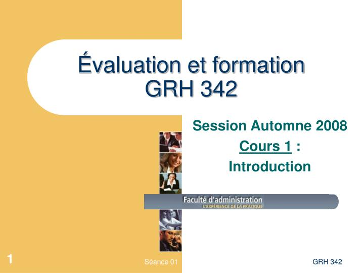 valuation et formation grh 342