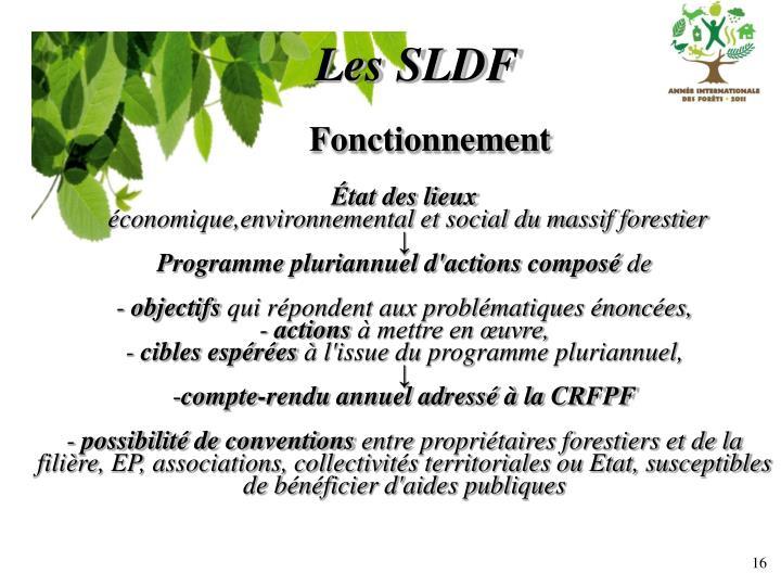 Les SLDF