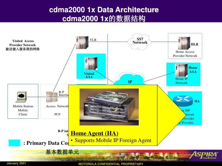 cdma2000 1x Data Architecture
