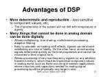 advantages of dsp1