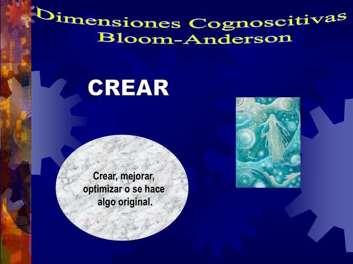 Dimensiones Cognoscitivas
