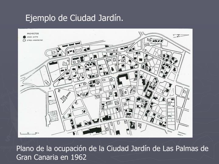 Ejemplo de Ciudad Jardín.