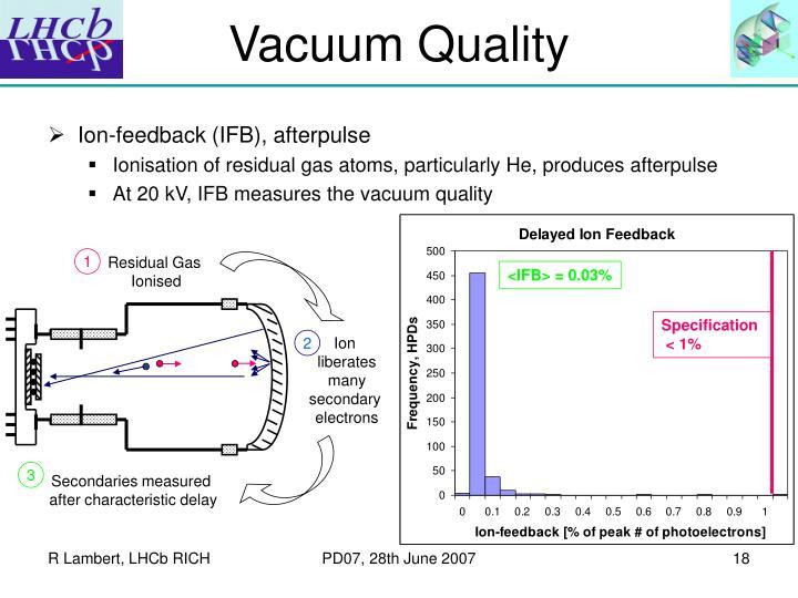 Vacuum Quality