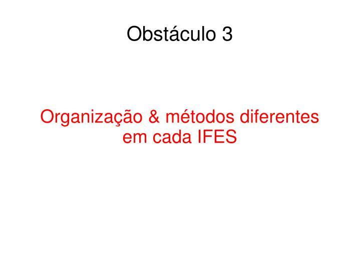 Obstáculo 3
