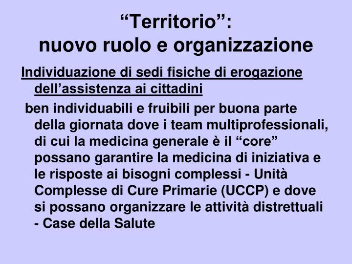 """""""Territorio"""":"""