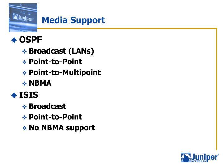 Media Support