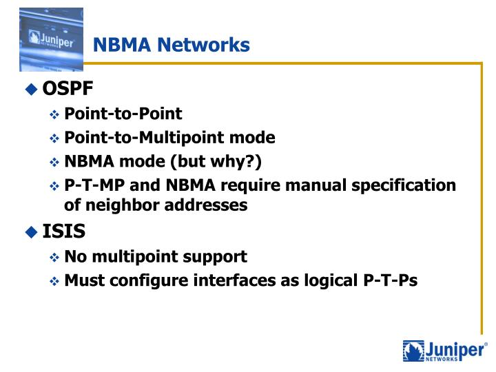 NBMA Networks