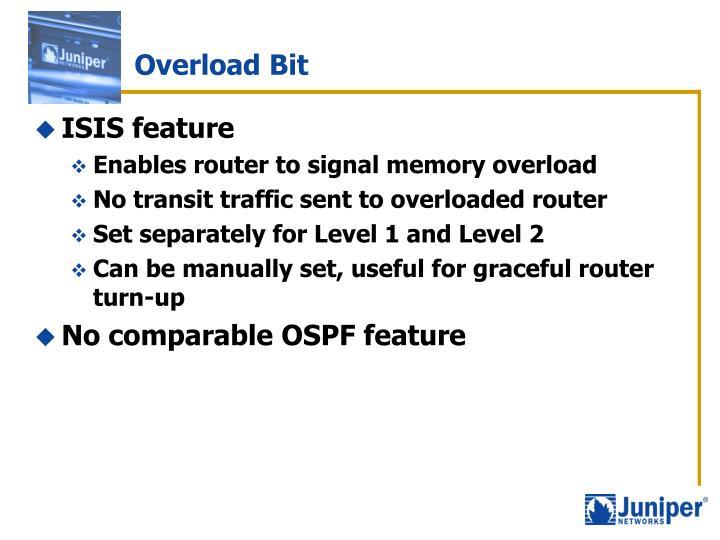 Overload Bit