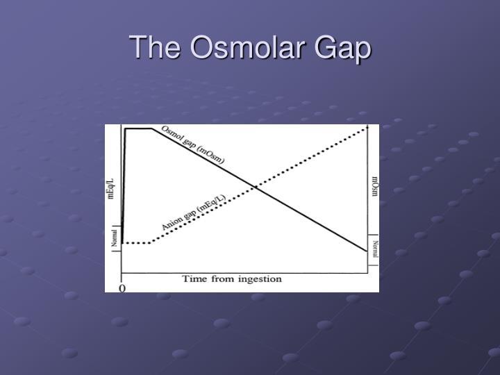 The Osmolar Gap