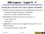 osi layers layer 5 7