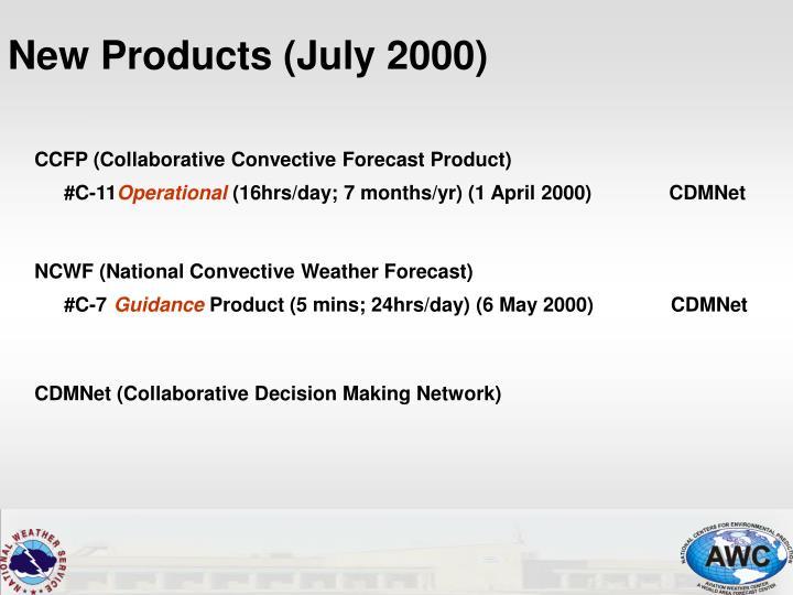 CCFP (Collaborative Convective Forecast Product)