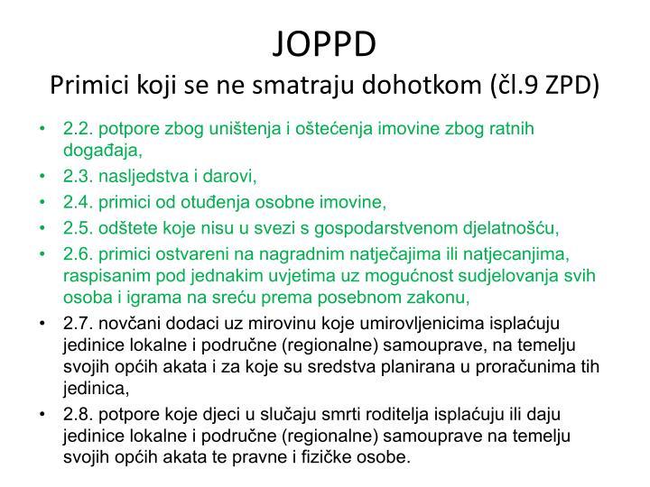 JOPPD