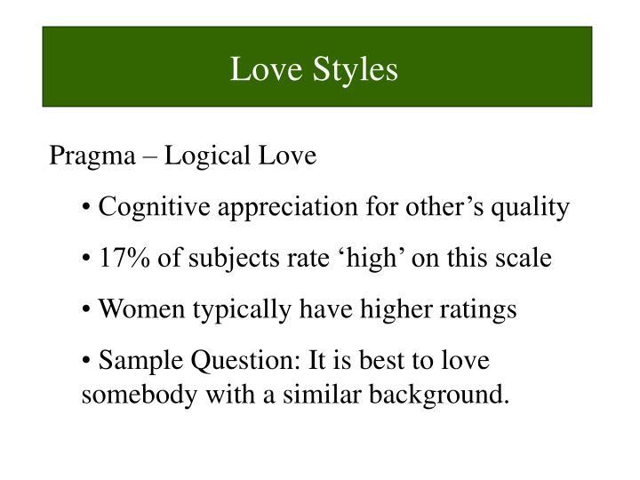 Love Styles