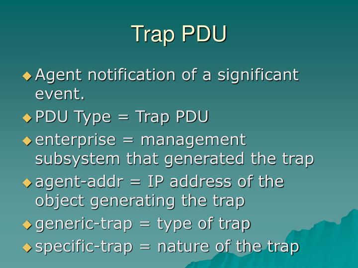 Trap PDU
