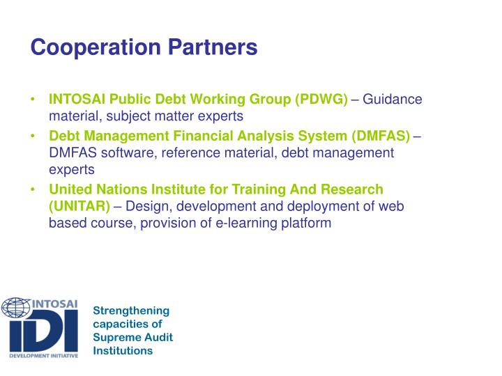 Cooperation Partners