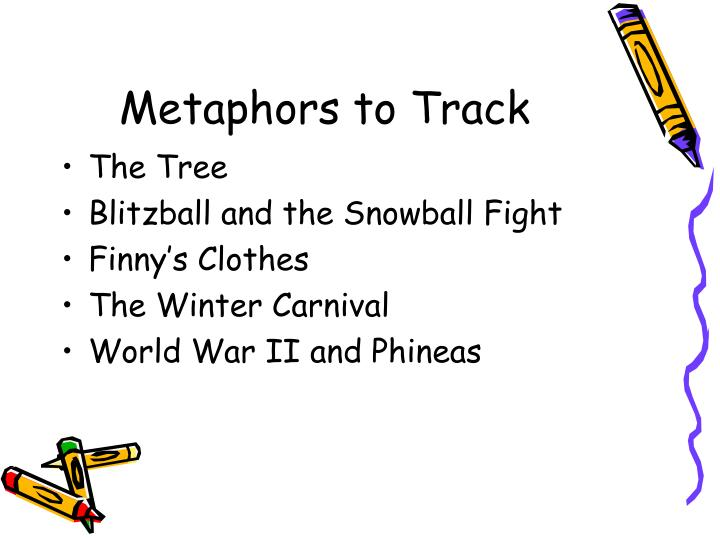 Metaphors to Track