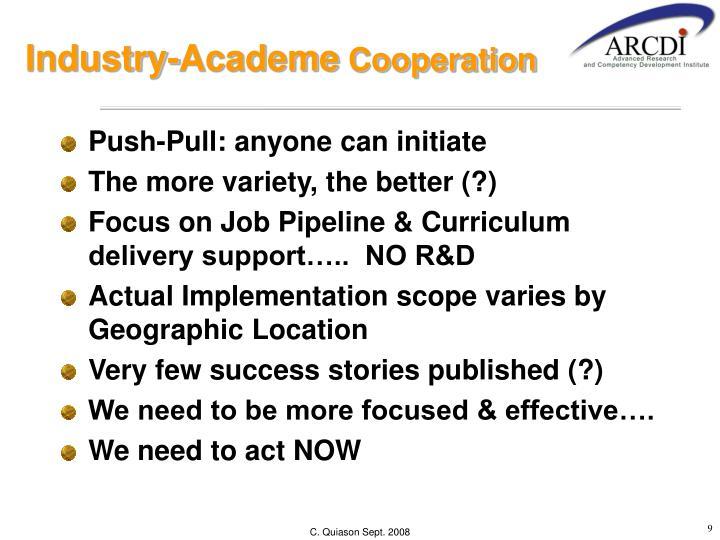 Industry-Academe