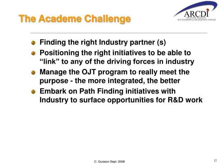 The Academe Challenge