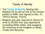 treaty of neuilly
