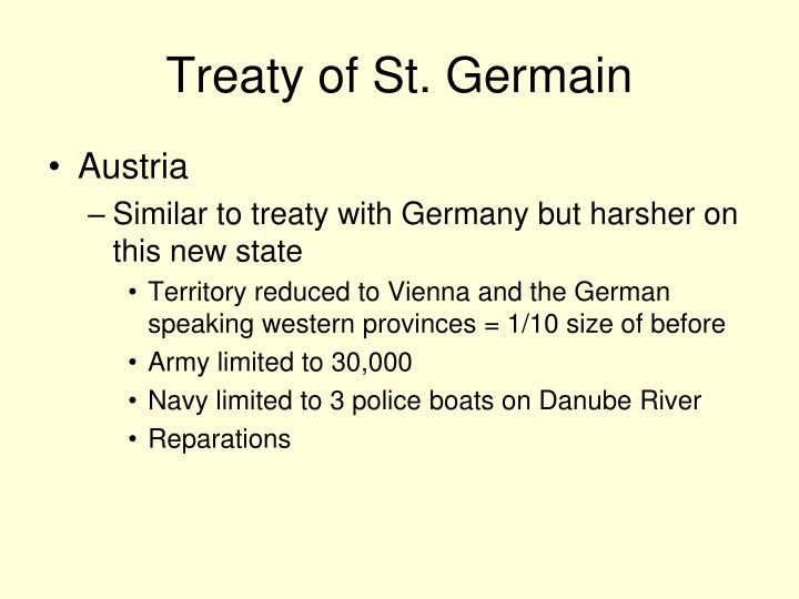 Treaty of St. Germain