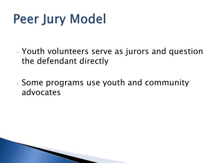 Peer Jury Model