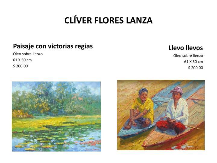 CLÍVER FLORES LANZA