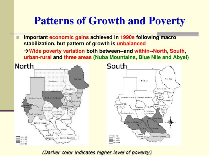 Patterns of Growth and Poverty
